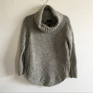 Cynthia Rowley | Cowl neck wool blend sweater